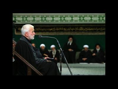 متن اشعار خوانده شده توسط احمد چینی در شب اول عزاداری حسینیه امام خمینی(ره)+عکس