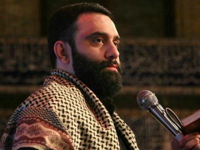 فیلم/ کربلایی جواد مقدم:  ما پای رهبر و ولی پای منبر علی میمونیم