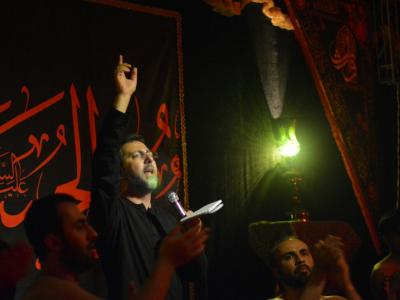 مراسم شب پنجم محرم در مجمع فرهنگی، مذهبی وارث