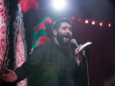 فیلم /مداحی حماسی و زیبای حسین طاهری