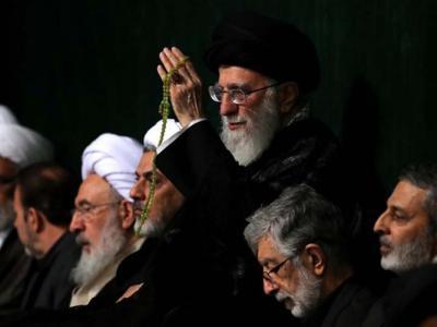 مراسم عزاداری شب تاسوعا در حسینیه امام خمینی(ره)