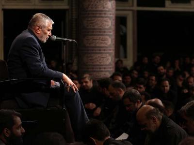 برنامه مناجاتخوانی حاج منصور ارضی در حرم رضوی
