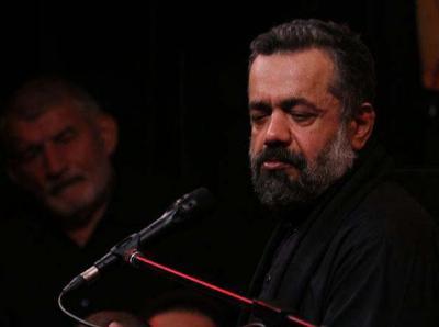 فیلم/ حاج محمود کریمی: صد داغ دیده دسته به دسته کنج خرابه یکجا نشسته