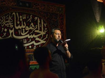 مراسم شب تاسوعا در مجمع فرهنگی، مذهبی وارث