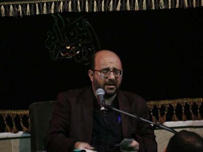 عزاداری شب شهادت امام سجاد (ع) در هیات روضه الشهدا