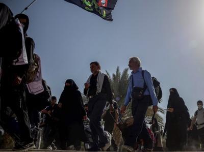 موکبهای ایرانی در ۵۵ نقطه شهر نجف مستقر میشوند