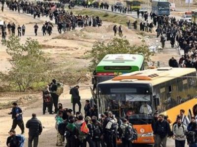 آمادهسازی ۱۶۵۰۰ اتوبوس برای اربعین/ امکان تردد اتوبوسها تا نجف و کربلا