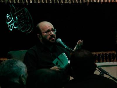 مراسم آخرین شب از شبهای پایانی ماه صفر  در هیات روضه الشهدا