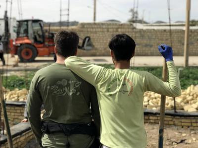گزارش فعالیتهای گروه جهادی میثاق در سالگرد زلزله کرمانشاه