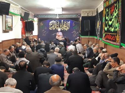 ارسالی/ مراسم عزاداری شهادت حضرت معصومه (س) در هیئت اصحاب القائم(عج) طهران