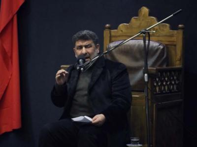 مراسم عزاداری دهه دوم فاطمیه در مسجد دانشگاه تهران
