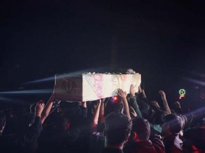 شب دوم مراسم عزاداری دهه دوم فاطمیه در مسجد دانشگاه تهران