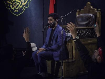 شب چهارم مراسم عزاداری دهه دوم فاطمیه در  مسجد دانشگاه تهران