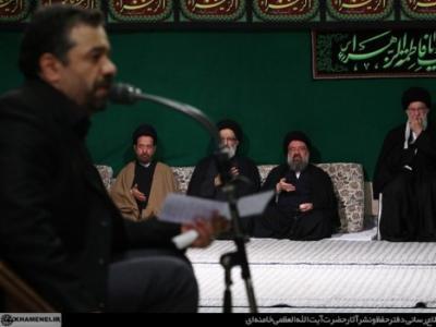صوت/حاج محمود کریمی؛شب شهادت حضرت زهرا(س)حسینیه امام خمینی (ره)/سال93