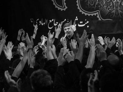 مراسم عزاداری فاطمیه دوم (شب نهم) در هیئت ثارالله مسجد الهادی