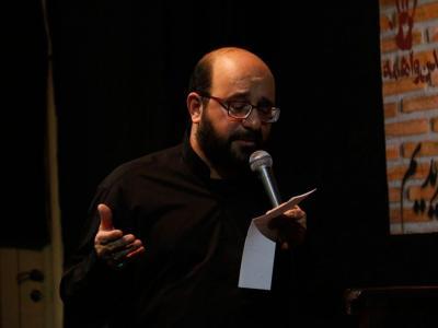 مراسم عزاداری شب هفتم دهه دوم فاطمیه حسینیه روضهالشهدا