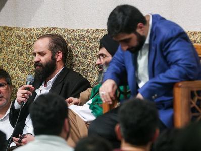 فیلم/شعر خوانی حاج محمد سهرابی: امشب برآن سرم که جنون را ادب کنم
