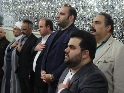 چهلمین قرار ماهيانه هیئت فرزندان شهدا در امامزاده صالح ( ع) تجریش