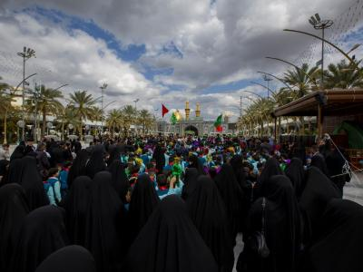 مراسم جشن ویژه ای به مناسبت میلاد حضرت علی اصغر (ع) برگزار شد+تصاویر