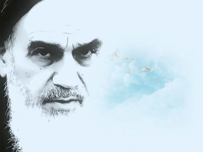قرائت فرازی از مناجات شعبانیه توسط امام خمینی(ره)