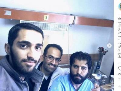 سلفی سه شهید در بیمارستان +عکس