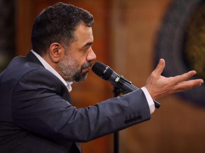 گزارش صوتی مناجات خوانی حاج محمود کریمی در حرم رضوی