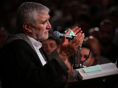برنامه مداحی حاج منصور ارضی در فاطمیه دوم