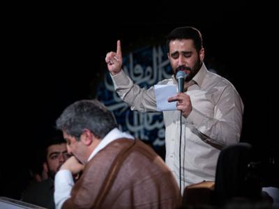بازخوانی نوحه یونس حبیبی توسط حسین طاهری/ مردم دعا کنند + فیلم