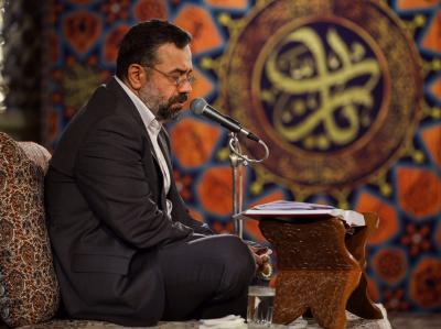 مناجات خوانی شب پنجم ماه رمضان با نوای حاج محمود کریمی در حرم رضوی