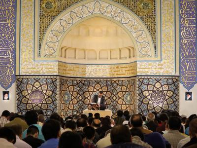 گزارش صوتی مناجات خوانی حاج محمود کریمی در حرم رضوی، شب نهم و دهم ماه رمضان