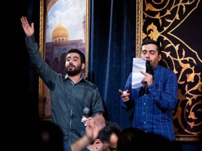 مناجات خوانی شب دوازدهم ماه مبارک رمضان در هیئت مکتب الزهرا(س)