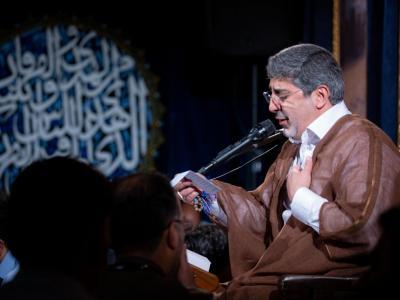 مناجات خوانی شب شانزدهم ماه مبارک رمضان در هیئت مکتب الزهرا(س)