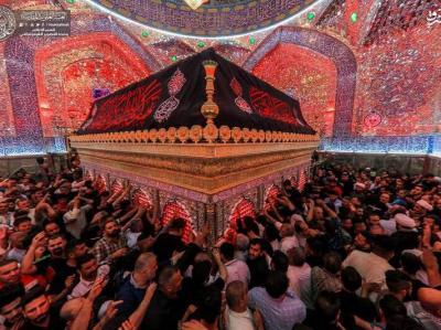 تصاویر/ مراسم احیا در نجف اشرف