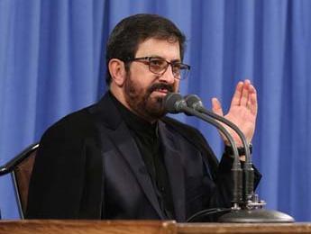 فیلم/ مرثیهسرائی حاج مرتضی طاهری در شهادت امام علی(ع) در حسینیه امام خمینی