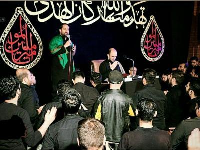 عزاداری شب نوزدهم ماه مبارک رمضان در محفل روضة الزهرا(س)