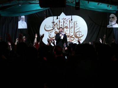 مراسم شب بیست و یکم ماه مبارک رمضان در هییت الشهدا اندیشه