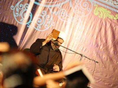 مراسم شب بیست و یکم ماه رمضان در هیئت رزمندگان اسلام