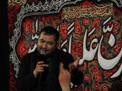 مراسم عزاداری شب بیست و سوم ماه رمضان در هیئت محبان حضرت علی اصغر (ع)