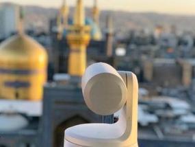 پخش زنده حال و هوای بارگاه منور رضوی توسط ۱۰ دوربین در دهه کرامت