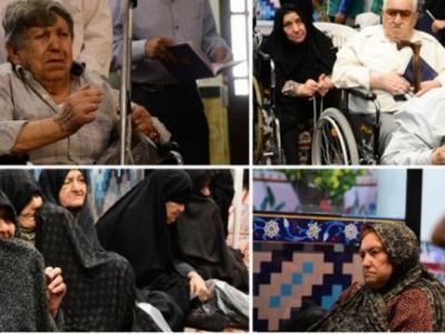 جذامیهای مشهد بعد از سالها به زیارت امام رضا(ع) مشرف شدند