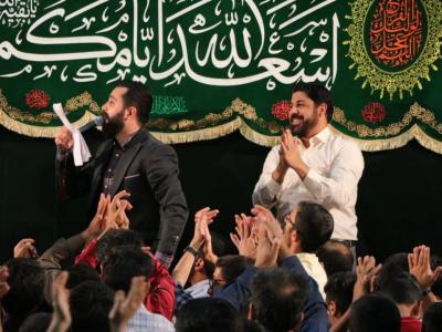 مراسم جشن عید غدیر در هیئت کربلای رفسنجان