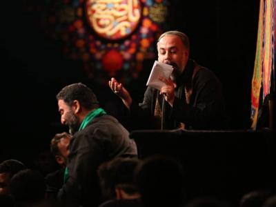 مراسم شب هشتم محرم98 در حسینیه شهید همت