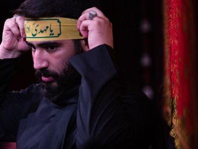 رجزخوانی حسین طاهری در شب نهم/ با آل علی هرکه درافتاد ورافتاد