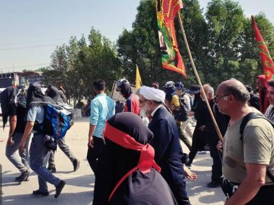 فعالیت ۸۲۲ موکب ایرانی در مسیر زائران اربعین در عراق