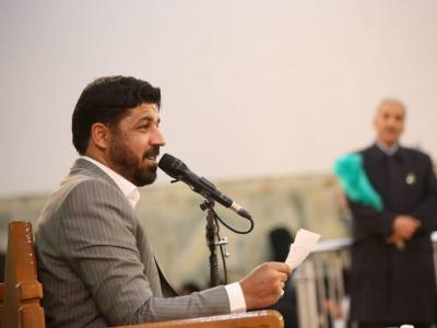مراسم دعای ندبه در حرم حضرت عبدالعظیم حسنی(ع)