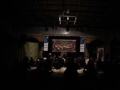 مراسم احیا شب ۲۱ ماه مبارک رمضان در هیئت محبان حضرت علی اصغر