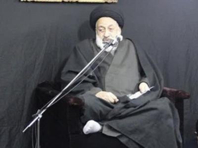 توسل و استغاثۀ مرحوم حجتالاسلام طباطبایی به امام رضا (ع)