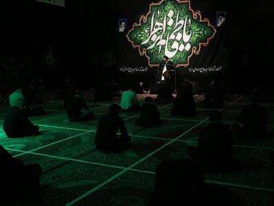 مراسم عزاداری شب شهادت حضرت زهرا در هیئت ثارالله مسجد جامع الهادی