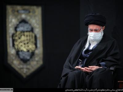 عزاداری شب شهادت حضرت زهرا (س) در حسینیه امام خمینی