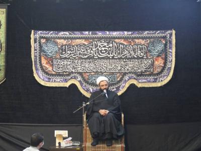 عزاداری شب شهادت حضرت زهرا س هیئت محبان حضرت علی اصغر(ع)